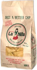 La Niña White Corn Tortilla Chips