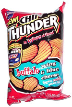 Chip Thunder Buffalo Wing & Blue Cheese Rumble Cut Potato Chips
