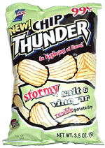 Chip Thunder Stormy Salt & Vinegar Rumble Potato Chips