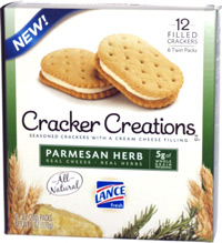 Lance Cracker Creations Parmesan Herb