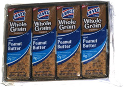 Lance Whole Grain Crackers Real Peanut Butter