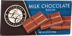 Landmark Confections Milk Chocolate Solid