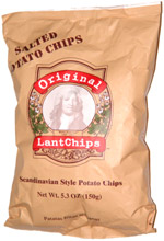 Original Lantchips Scandinavian Style Potato Chips