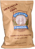 Original LantChips Scandinavian Style Potato Chips Sour Cream