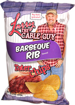 Larry the Cable Guy Barbeque Rib Tater Chips