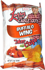 Larry the Cable Guy Buffalo Wing Tater Chips