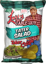 Larry the Cable Guy Tater Salad Tater Chips