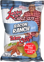 Larry the Cable Guy Bacon Ranch Tater Chips