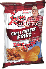 Larry the Cable Guy Chili Cheese Fries Tater Chips