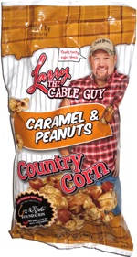 Larry the Cable Guy Caramel & Peanuts Country Corn