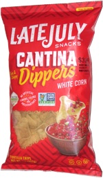 Late July Cantina Dippers White Corn