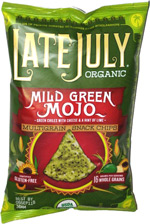 Late July Organic Mild Green Mojo Multigrain Snack Chips