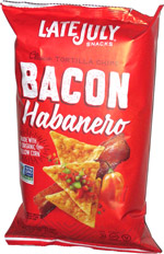 Late July Clásico Tortilla Chips Bacon Habanero