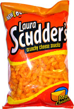 Laura Scudder's Crunchy Cheese Snacks