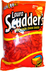 Laura Scudder's Hot Crunchy Cheese Snacks