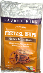 Laurel Hill Pretzel Chips Honey Multigrain