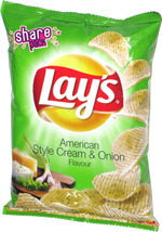 Lay's American Style Cream & Onion Flavour