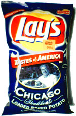 Lay's Tastes of America Chicago Steakhouse Loaded Baked Potato Potato Chips