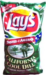 Lay's California Cool Dill