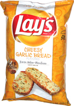 Lay's Cheesy Garlic Bread