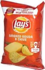 Lay's Flavor Swap Smoked Gouda & Chive
