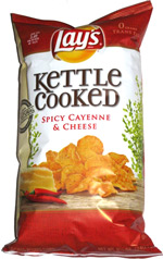 Lay's Kettle Cooked Spicy Cayenne & Cheese