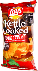 Lay's Kettle Cooked Sweet Chili & Sour Cream