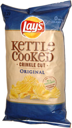 Lay's Kettle Cooked Crinkle Cut Original
