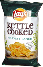 Lay's Kettle Cooked Harvest Ranch