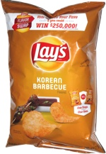 Lay's Flavor Swap Korean Barbecue
