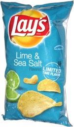 Lay's Lime & Sea Salt