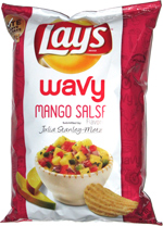 Lay's Wavy Mango Salsa