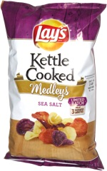Lay's Kettle Cooked Medleys Sea Salt