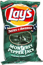 Lay's Tastes of America Monterey Pepper Jack Potato Chips
