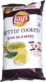 Lay's Kettle Cooked Olive Oil & Herbs