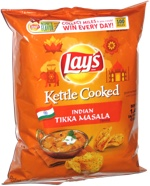 Lay's Kettle Cooked Indian Tikka Masala