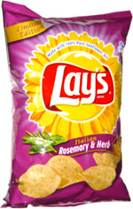 Lay's Italian Rosemary & Herb