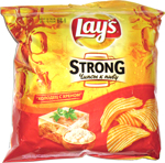 Lay's Strong холодец c хреном (Holodets with Horseradish)
