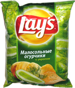 Lay's Half Sour Cucumber with Dill