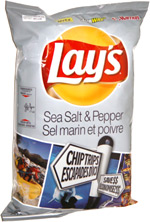 Lay's Sea Salt & Pepper Potato Chips