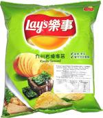 Lay's Kyushu Seaweed