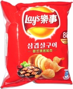 Lay's Korean Spicy Pork