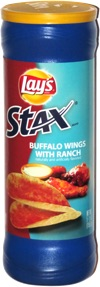 Lay's Stax Buffalo Wings with Ranch