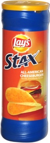 Lay's Stax All American Cheeseburger