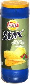 Lay's Stax Jalapeño Pepper Jack