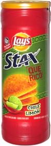 Lay's Stax Que Rico Chile Limón