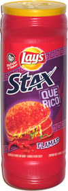 Lay's Stax Que Rico Flamas