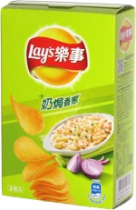 Lay's Stax Sour Cream & Onion (Taiwan)
