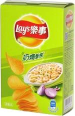 Lay's Stax Sour Cream & Onion (Taiwan)