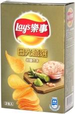 Lay's Stax Wasabi